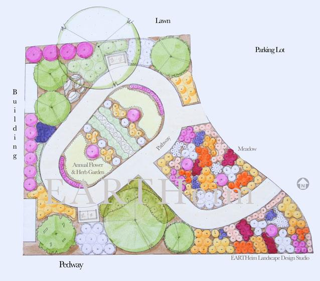 Berea Pollinator Garden EARTHeim Landscape Design in Lexington